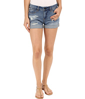 Blank NYC - Denim Cuffed Distressed Shorts in Weekend Warrior