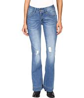 Petrol - Classic Flare Jeans in Dark Blue