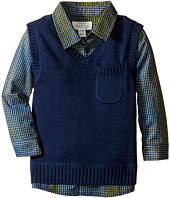 Pumpkin Patch Kids - Vest with Mock Check (Infant)