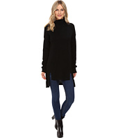 Christin Michaels - Madeline High-Low Turtleneck Cashmere Sweater