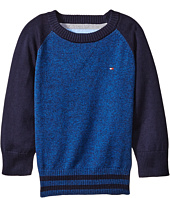 Tommy Hilfiger Kids - Daryl Raglan Crew Neck Sweater (Big Kids)