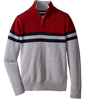 Tommy Hilfiger Kids - Connor 1/2 Zip Sweater (Toddler/Little Kids)