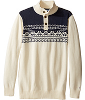 Tommy Hilfiger Kids - Dayton Button Mock Neck Sweater (Big Kids)