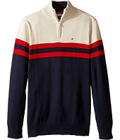 Tommy Hilfiger Kids - Connor 1/2 Zip Sweater (Big Kids)