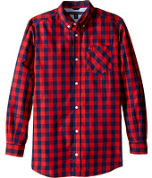 Tommy Hilfiger Kids - Hayes Woven Long Sleeve Shirt (Big Kids)