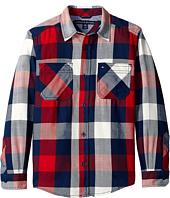 Tommy Hilfiger Kids - Ansel Long Sleeve Shirt (Big Kids)