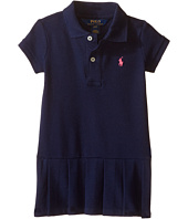 Polo Ralph Lauren Kids - Stretch Mesh Polo Dress (Toddler)