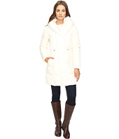 Cole Haan - Bib Front Down Coat with Oversized Shawl Collar