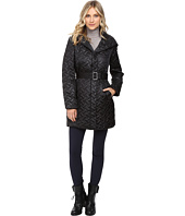 Cole Haan - Signature Quilted Coat with Hood