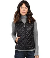 LAUREN Ralph Lauren - Faux Leather Shoulder Packable Vest