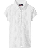 Nautica Kids - Short Sleeve Eyelet Polo (Big Kids)