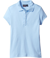 Nautica Kids - Short Sleeve Polo with Ruffle Placket (Big Kids)
