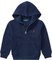 Polo Ralph Lauren Kids - Collection Fleece Full-Zip Hoodie (Little Kids)