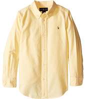 Polo Ralph Lauren Kids - Solid Oxford Shirt (Little Kids/Big Kids)