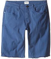Hudson Kids - Stretch Twill Five-Pocket Shorts in Treasure Indigo (Big Kids)