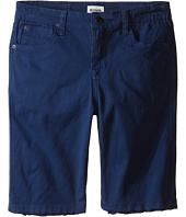 Hudson Kids - Stretch Twill Five-Pocket Shorts in Treasure Indigo (Little Kids)
