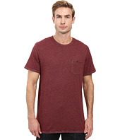 Alternative - Smoked Wash Organic Pima Raw Edge Pocket Tee