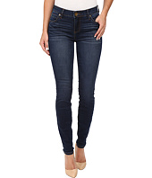 KUT from the Kloth - Mia Toothpick Five-Pocket Skinny Jeans in Awareness w/ Medium Base Wash