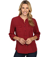 B Collection by Bobeau - Pippa Two-Pocket Tencel Blouse