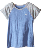True Religion Kids - Branded Logo Color Block Tee (Toddler/Little Kids)