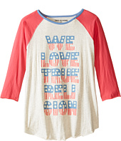 True Religion Kids - We Love True Religion Football Tee (Little Kids/Big Kids)