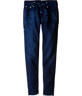 True Religion Kids - Casey Raw Edge Midnight Super T Jeans in Jet Blue (Big Kids)