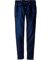 True Religion Kids - Casey Raw Edge Midnight Super T Jeans in Jet Blue (Big Kids)