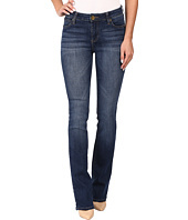 KUT from the Kloth - Natalie Kurvy Bootcut Jeans in Lift w/ Dark Stone Base Wash