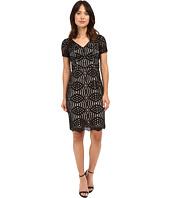 NUE by Shani - Geometric Lace Dress