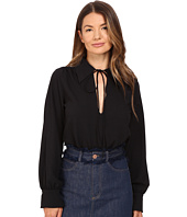 See by Chloe - Embellished Crepe Long Sleeve Blouse
