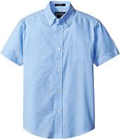 Nautica Kids - Husky Short Sleeve Oxford Shirt (Big Kids)