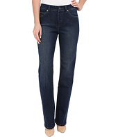 Miraclebody Jeans - Six-Pocket Abby Straight Leg Jeans in Seattle Blue