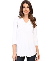 Mod-o-doc - Classic Jersey Embroidered Split-Neck Tee