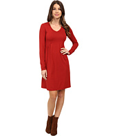 Mod-o-doc - Cotton Modal Spandex Jersey Princess Shirred V-Neck Dress