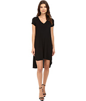 HEATHER - Keyhole Sleeve Tee Dress