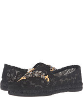 Dolce & Gabbana - Lace Espadrille with Botanical Garden Jewel Embellishment