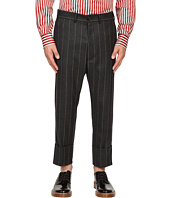 Vivienne Westwood - Pinstripe Flannel James Bond Cropped