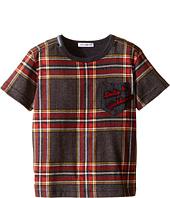 Dolce & Gabbana Kids - Back to School Tartan T-Shirt (Toddler/Little Kids)