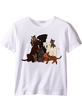 Dolce & Gabbana Kids - Patch Canine Family T-Shirt (Toddler/Little Kids)