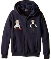 Dolce & Gabbana Kids - Patch Designers Hoodie (Big Kids)