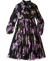 Dolce & Gabbana Kids - City Tulip Chiffon Dress (Big Kids)