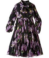 Dolce & Gabbana Kids - City Tulip Chiffon Dress (Big Kids)