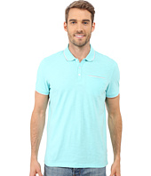Calvin Klein - Liquid Cotton Short Sleeve Slub Tipped Polo