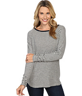 Jag Jeans - Brier Stripe Tee Classic Fit Shirt Striped Jersey