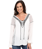 Scully - Honey Creek Mackenzie Frayed Edge Top