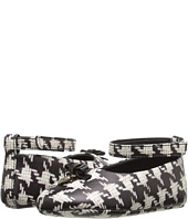 Dolce & Gabbana Kids - City Houndstooth Ballerina Flat (Infant/Toddler)