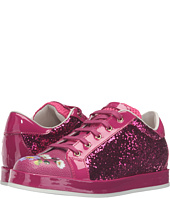 Dolce & Gabbana Kids - Low Top Sequin/Floral Sneaker (Little Kid/Big Kid)