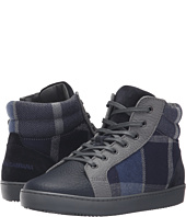 Dolce & Gabbana Kids - Back to School Check Tartan High Top Sneaker (Little Kid/Big Kid)