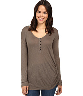 Splendid - Slub Henley with Side Tie