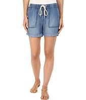 Mavi Jeans - Laila Shorts in Indigo Brushed Super Soft Tencel